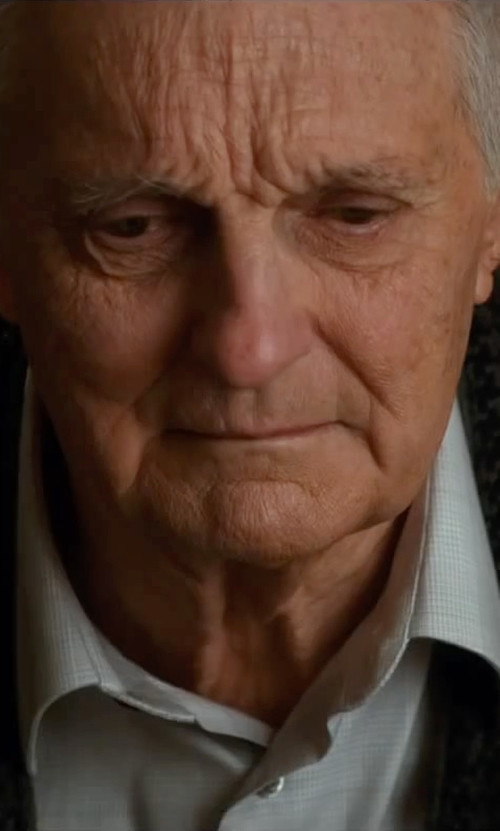 Alan Alda with The Men's Store Baruffa Extrafine Merino Wool Sweater Vest in The Longest Ride