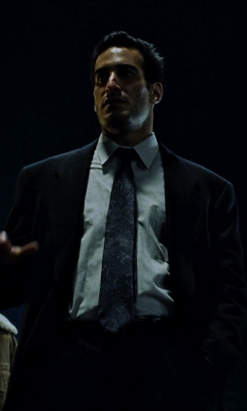 Rob Lanza with Hickey Freeman Two-Piece Wool Suit in Fight Club