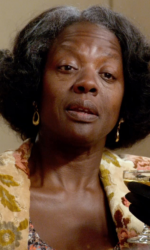 Viola Davis with Attic Barn Blazer in Get On Up