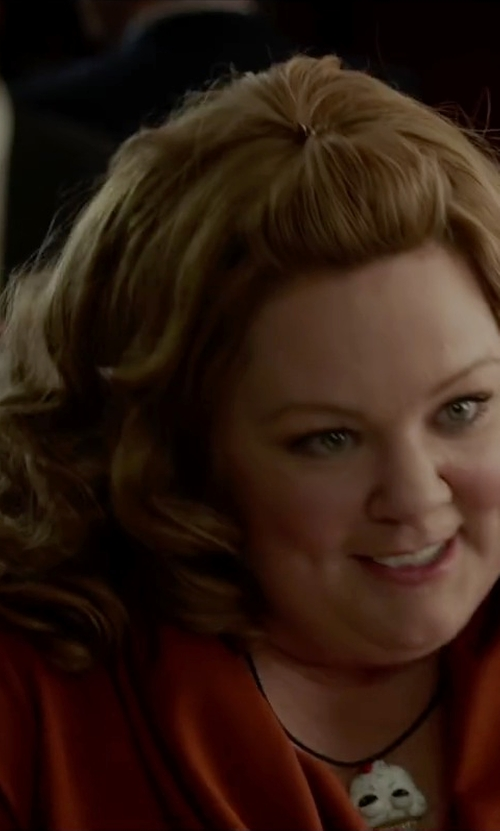 Melissa McCarthy with Zzan Gold Plated Necklace in Spy