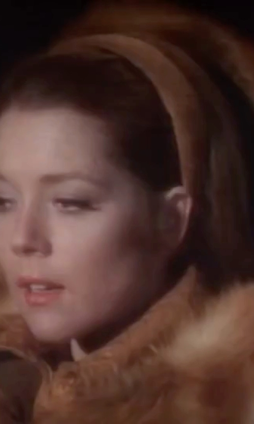 Diana Rigg with Ted Baker London Karah Faux Fur Hat in On Her Majesty's Secret Service