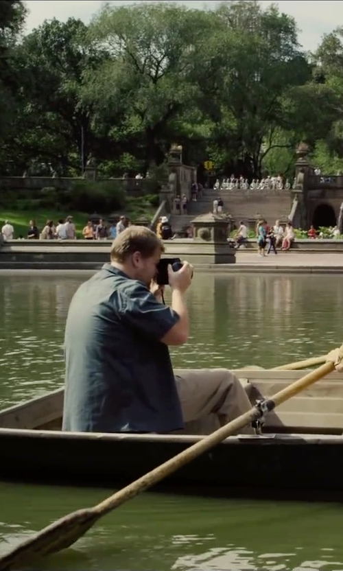 James Corden with Acne Studios Cone Trousers in Begin Again
