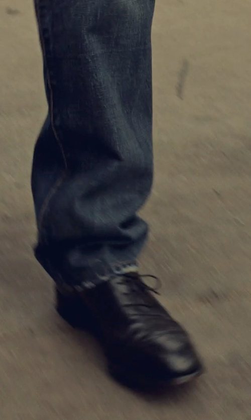Ben Stiller with Reiss Leather Oxford Shoes in While We're Young