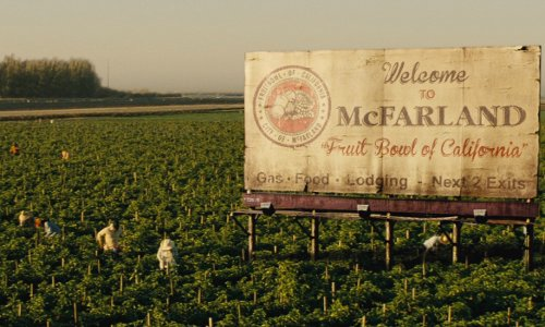 Unknown Actor with McFarland California, USA in McFarland, USA