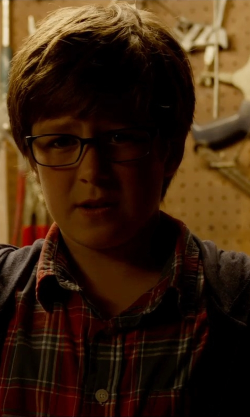 Owen Judge with Ray Ban Junior Eyeglasses in Fantastic Four