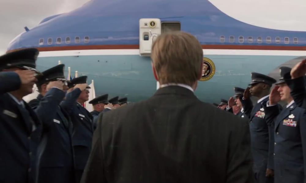Air Force One Boeing VC-25 in Iron Man 3