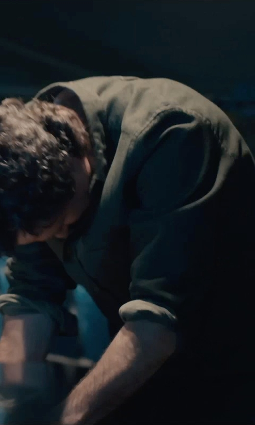 Mark Ruffalo with Diesel Siranella Long Sleeve Shirt in Avengers: Age of Ultron