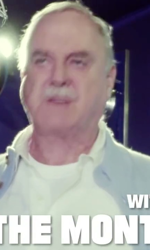 John Cleese with Emporio Armani Modal Crew Neck T-Shirt in Absolutely Anything
