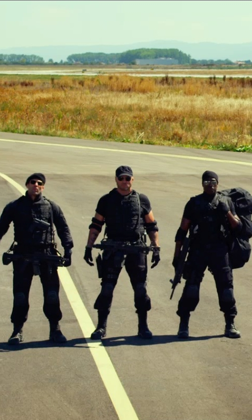 Randy Couture with Montblanc Aviator Polarized Sunglasses in The Expendables 3