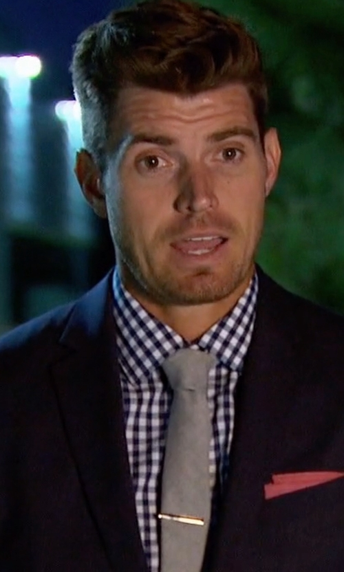 Luke with Boss Hugo Boss  Huge Genius Slim-Fit Basic Suit in The Bachelorette