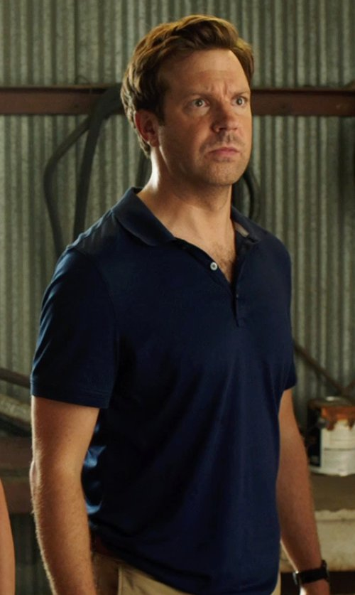 Jason Sudeikis with Theory Harbin Polo Shirt in We're the Millers