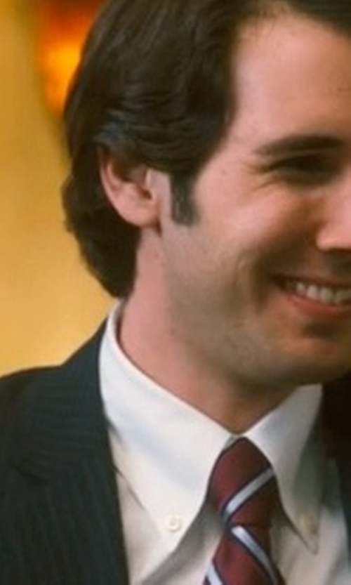 Josh Groban with John Varvatos Star U.S.A. Filmore - Two Button Notch Suit in Crazy, Stupid, Love.