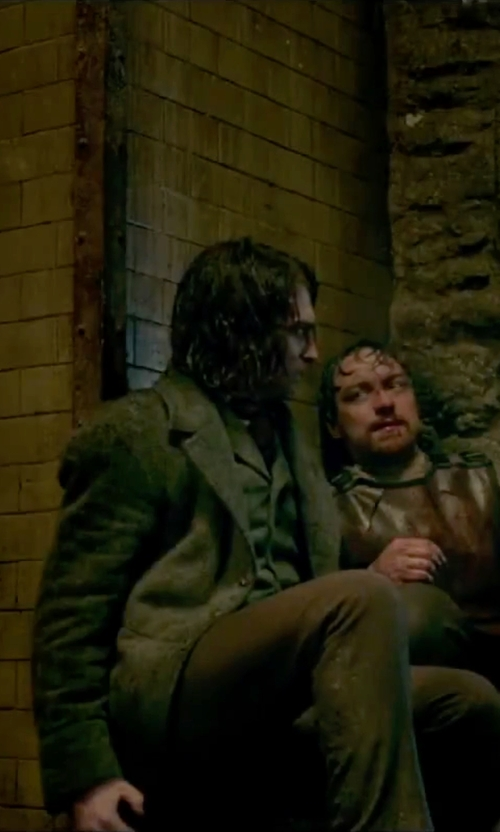 Daniel Radcliffe with Kuhl Slax Pants in Victor Frankenstein