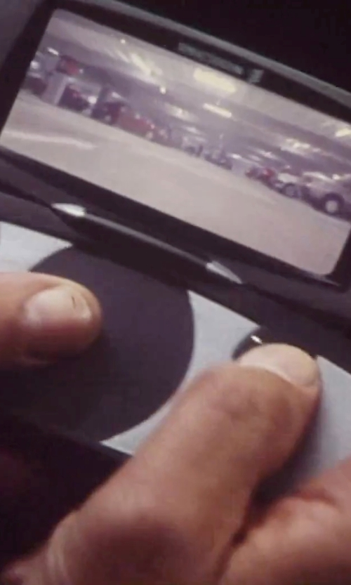 Pierce Brosnan with Sony Ericsson JB988 Mobile Phone in Tomorrow Never Dies