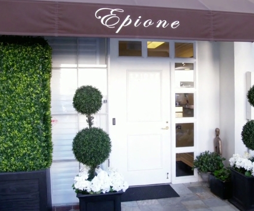 Kim Kardashian West with Epione Beverly Hills, California in Keeping Up With The Kardashians