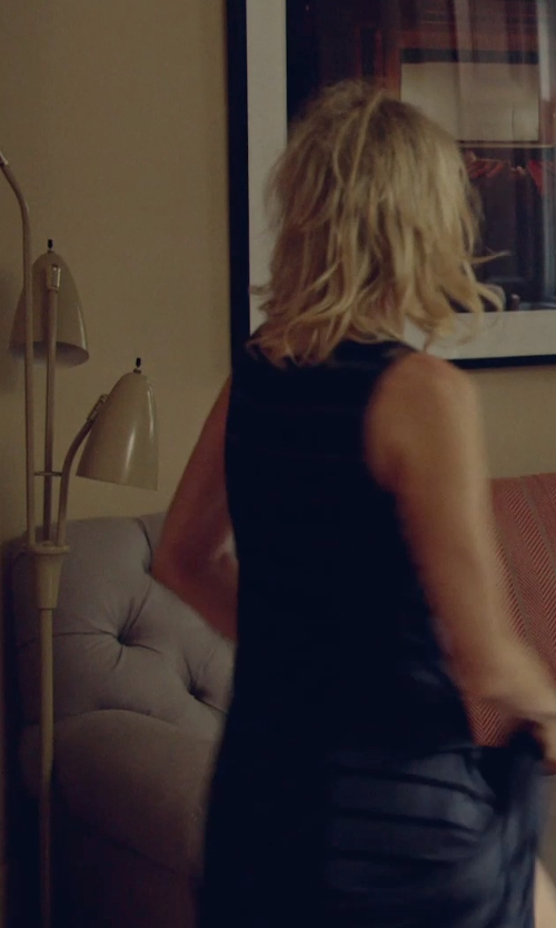 Naomi Watts with Pacific Coast Lighting 3-Light Brushed Steel Floor Lamp in While We're Young