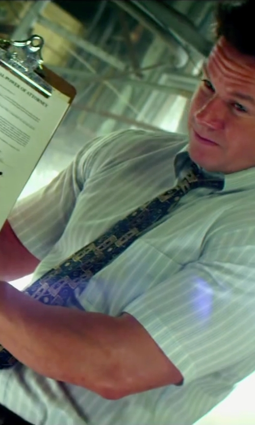 Mark Wahlberg with Raymond Weil Tradition White Dial Yellow Gold Mens Watch in Pain & Gain