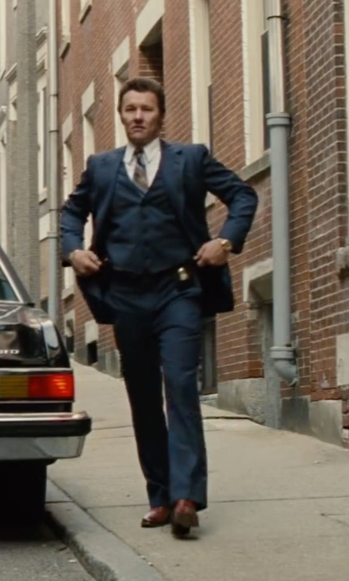 Joel Edgerton with Ted Baker Men's Danyll Oxford Shoes in Black Mass