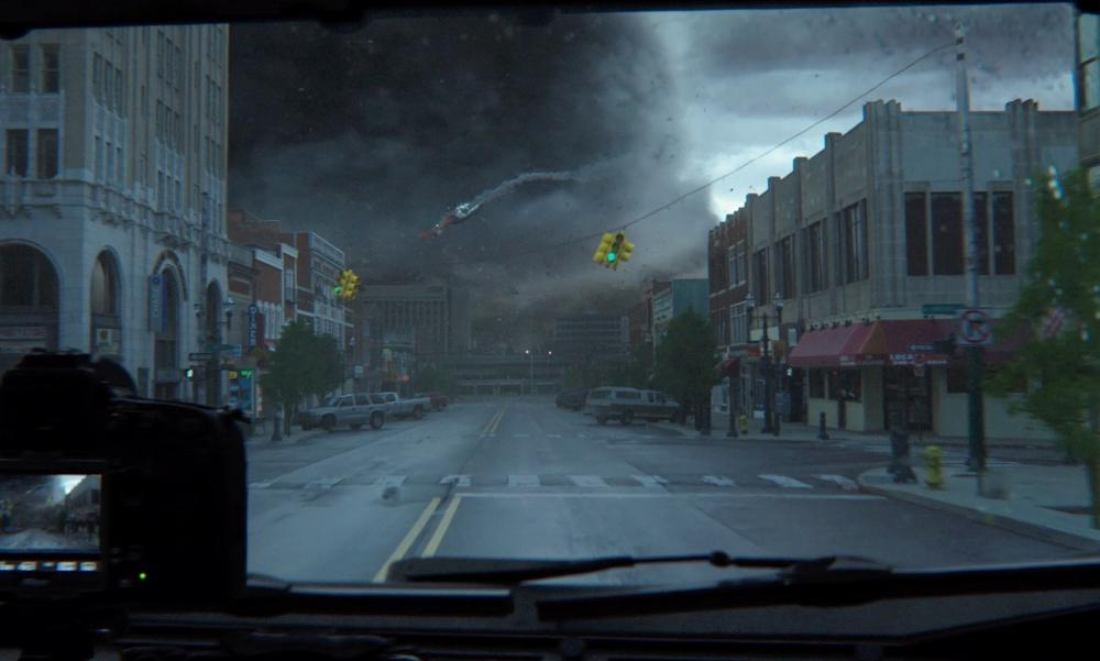 City of Pontiac Michigan, USA in Into the Storm