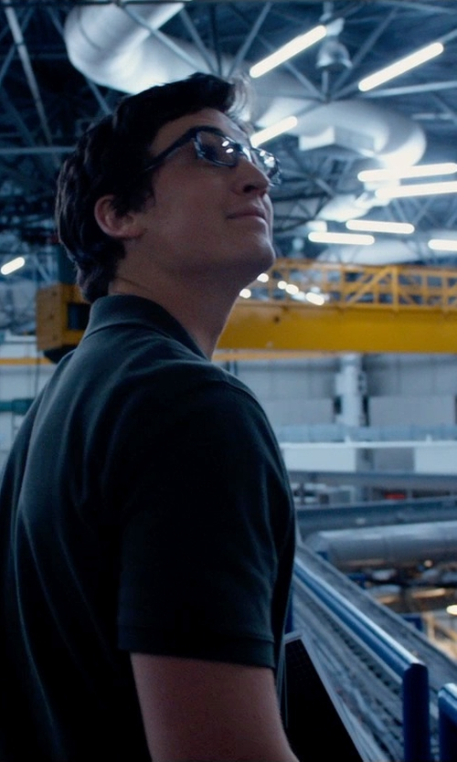 Miles Teller with Ray-Ban Rx5169 Eyeglasses in Fantastic Four