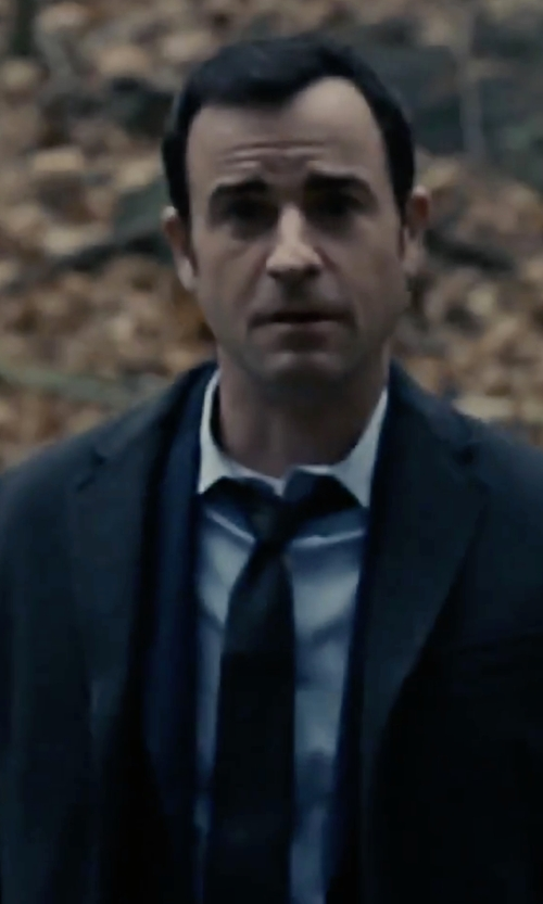 Justin Theroux with Lord & Taylor The Mens Shop Solid Silk Tie in The Girl on the Train