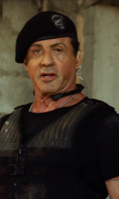 Sylvester Stallone with Galls NIJ 06 SMG Front Opening IIIA Vest in The Expendables 3