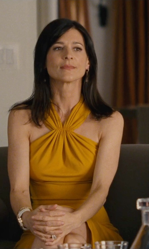 Perrey Reeves with Roberto Coin 'Ipanema' Citrine Drop Earrings in Entourage