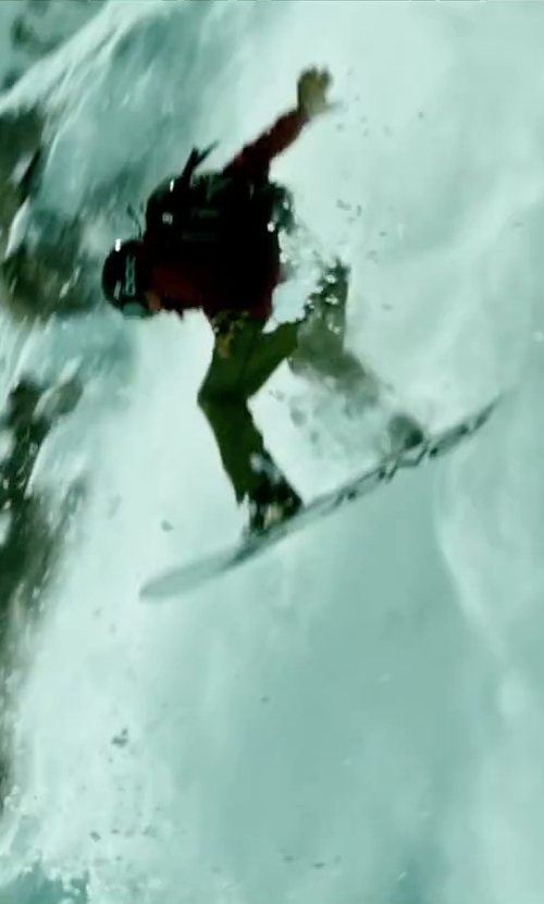 Tobias Santelmann with Jones Flagship Snowboard in Point Break