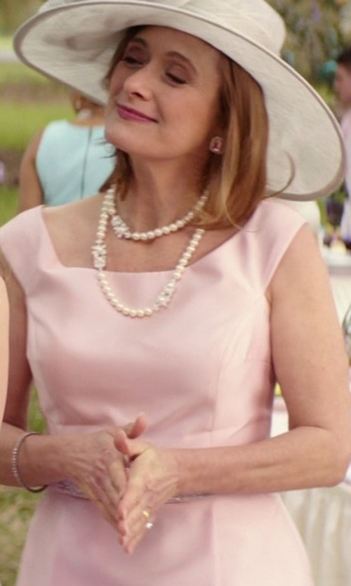 Caroline Goodall with JeenJewels Antique Diamond Bridal Ring Sets in The Best of Me