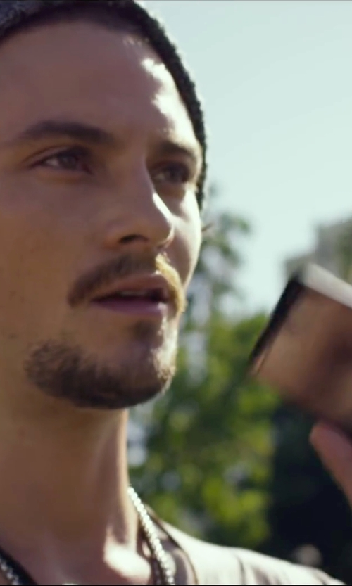 Shiloh Fernandez with HTC One X Smart Phone in We Are Your Friends