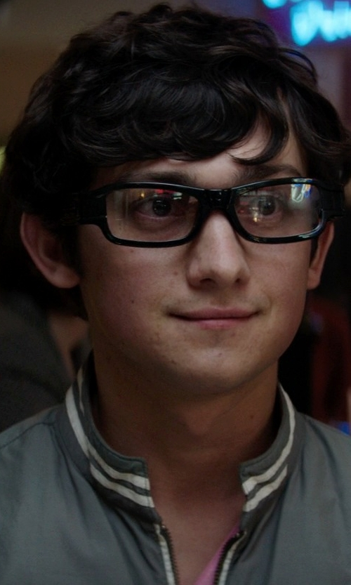 Craig Roberts with Myopia Digital Video Camera Eyewear Glasses in Neighbors