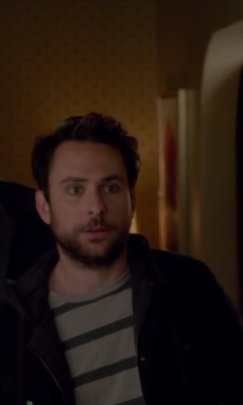 Charlie Day with Nike KO Full-Zip Hoodie in Horrible Bosses 2