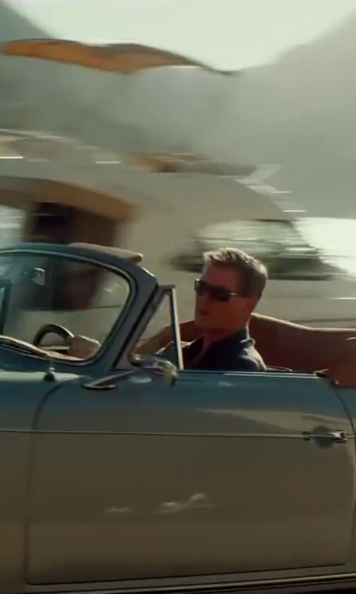 Pierce Brosnan with Persol PO 2803S Sunglasses in The November Man