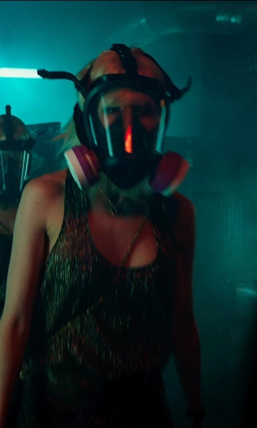 Tatiana Pajkovic with Sperian Full Facepiece Respirator Mask in The Transporter: Refueled