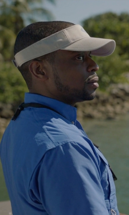 Dulé Hill with Ralph Lauren Oxford Shirt in Ballers