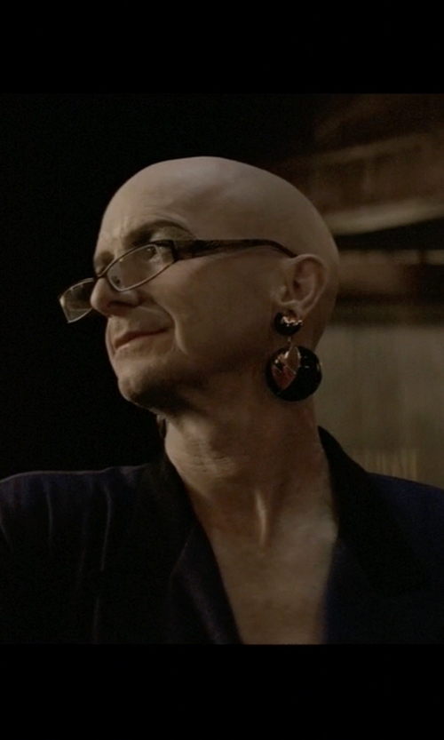 Denis O'Hare with Kate Spade New York Out Of The Loop Drop Earrings in American Horror Story