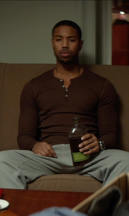 Michael B. Jordan with Bulleit Rye Frontier Whiskey in That Awkward Moment