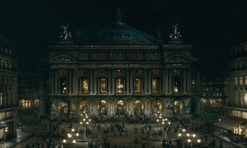 Unknown Actor with Palais Garnier Paris, France in Sherlock Holmes: A Game of Shadows