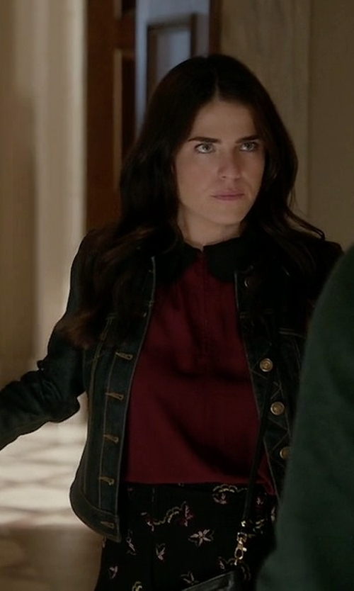 Karla Souza with A.L.C. Daro Skirt in How To Get Away With Murder
