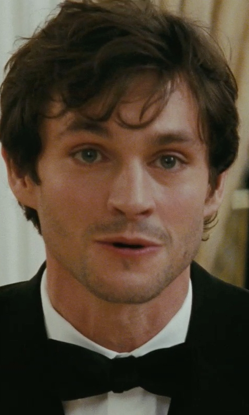 Hugh Dancy with Tom Ford Solid Satin Bow Tie in Confessions of a Shopaholic