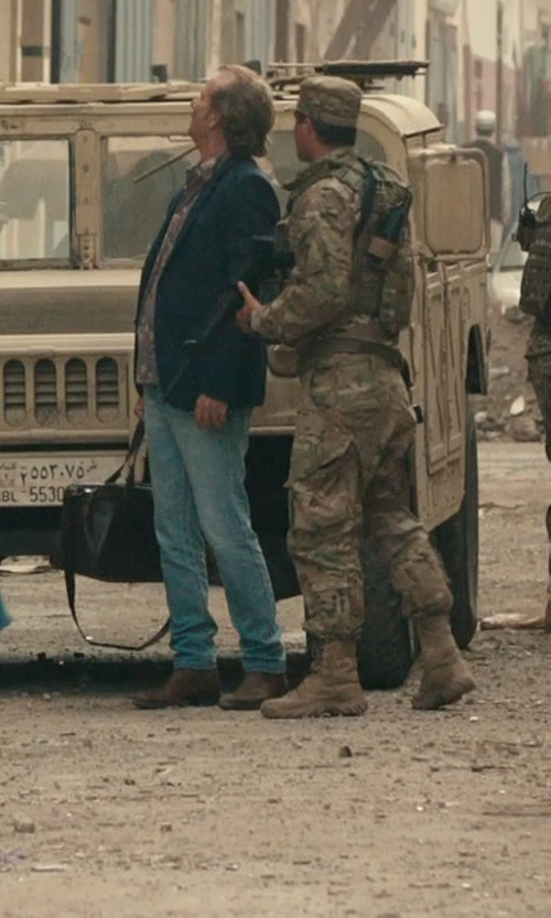 Bill Murray with Frau Ankle Boots in Rock The Kasbah