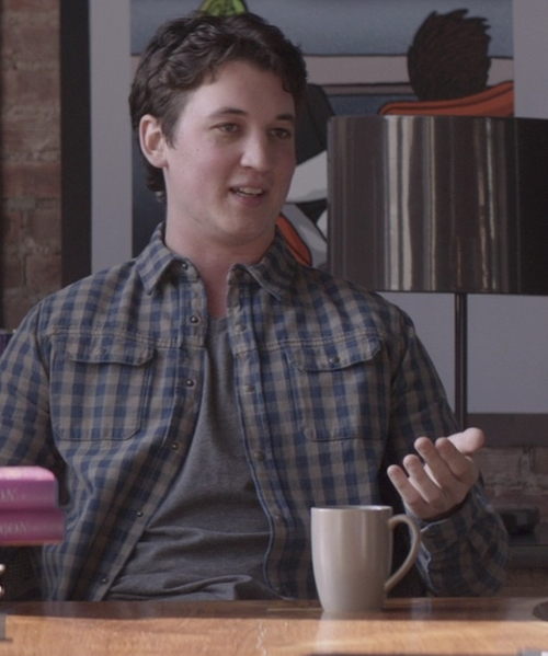 Miles Teller with Mud Australia Simple Mug in That Awkward Moment