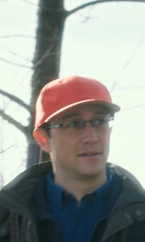 Joseph Gordon-Levitt with Hamaki-Ho Down Jacket in Snowden