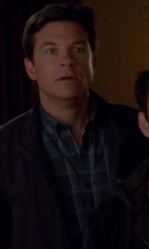 Jason Bateman with Schnayderman's Large Check Shirt in Horrible Bosses 2