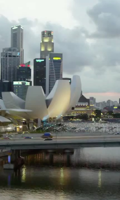 Unknown Actor with Maybank Tower Singapore in Hitman: Agent 47