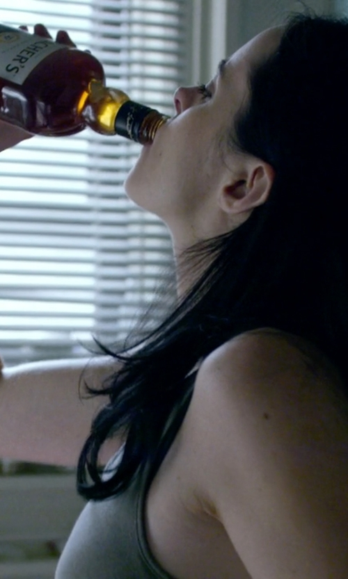 Krysten Ritter with Teacher's Highland Cream Whisky in Jessica Jones
