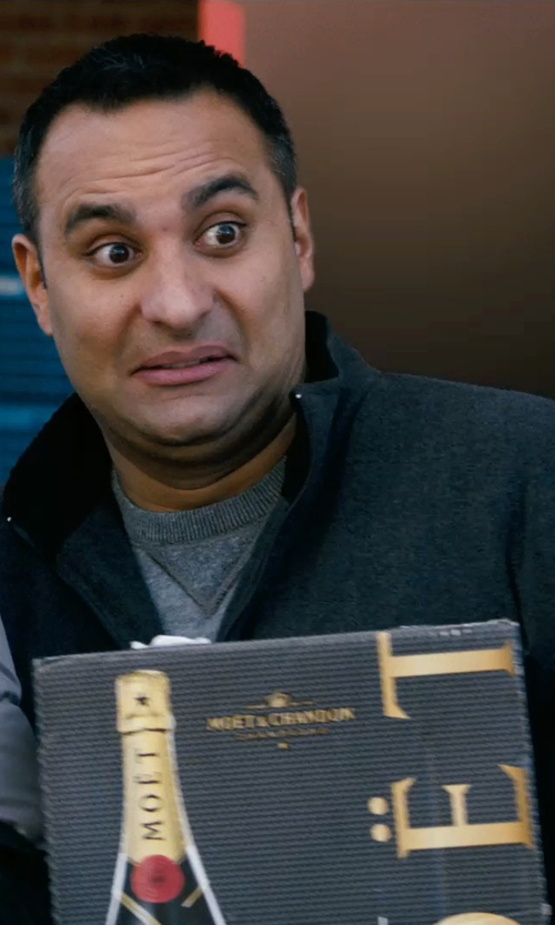 Russell Peters with Perry Ellis Wool-Blend Melton Jacket in New Year's Eve