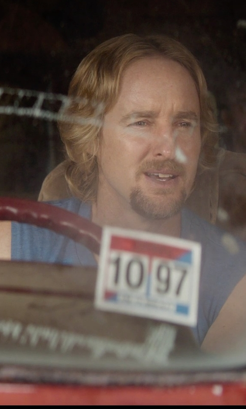 Owen Wilson with Gildan Mens Performance Sleeveless T-Shirt in Masterminds