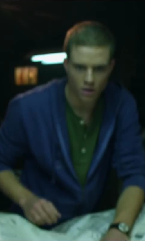 Jonny Weston with Roberto Bianci Men's Quadra Chronograph Watch in Project Almanac