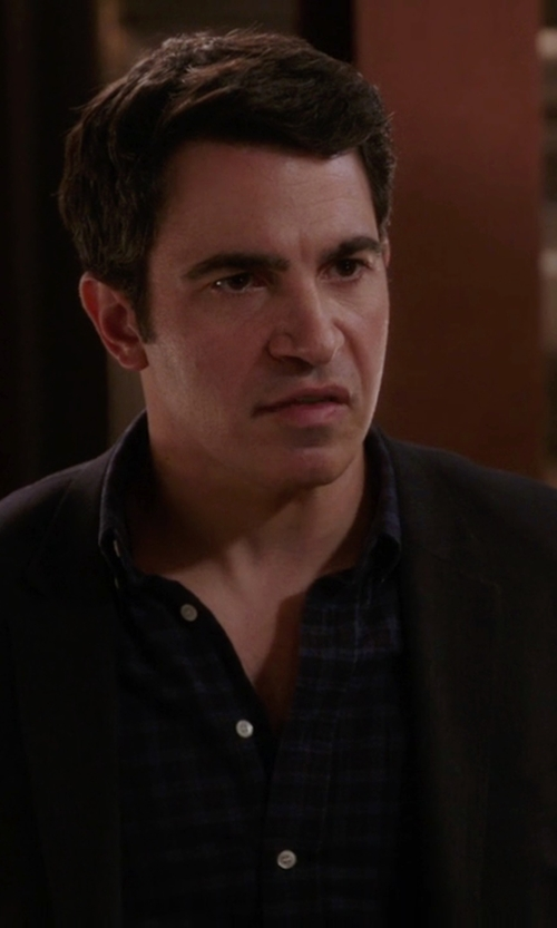 Chris Messina with Jil Sandler Two Piece Suit in The Mindy Project